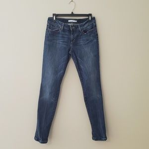 "Joe's ""Skinny Honey"" Curvy Jeans Medium Blue"
